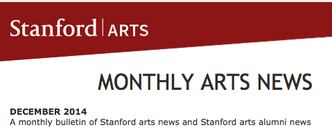 Stanford Arts Monthly Review.