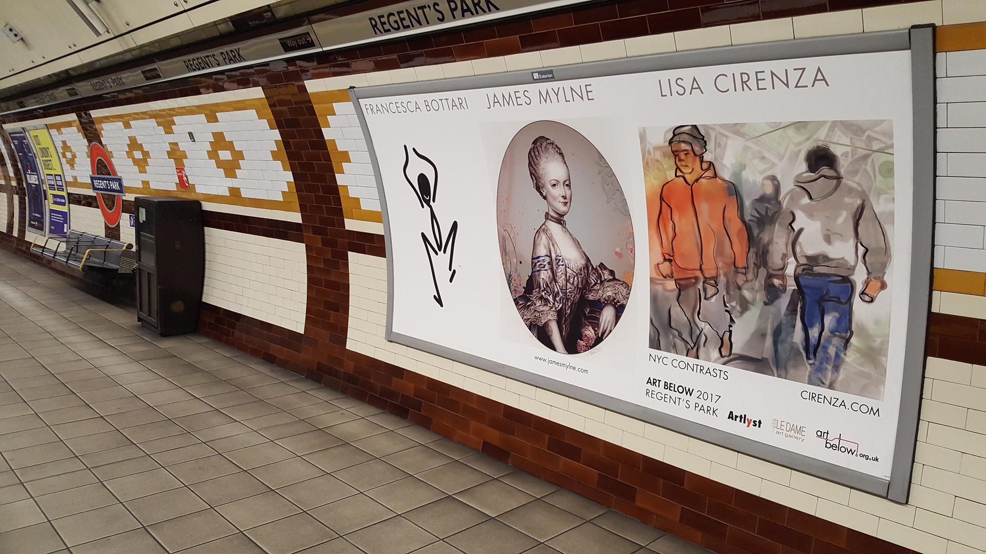 Art Below Public Art Exhibition