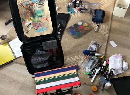 Art Materials that Won't Melt (Part 1/9)