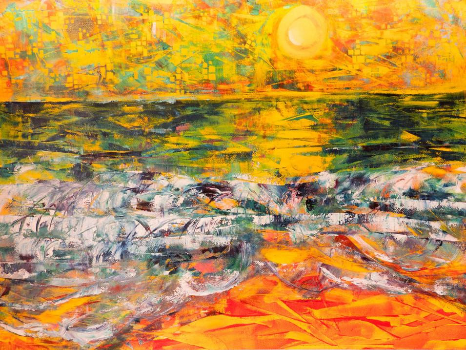 Heat Waves 56 x 76 cm Oils on Board