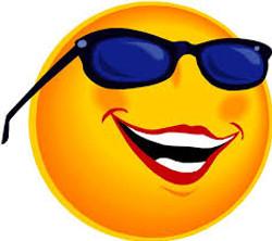 smiley face sunglasses