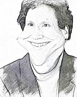 Judy caricature 2