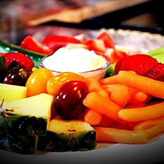 FRUIT AND VEGGIE TRAY