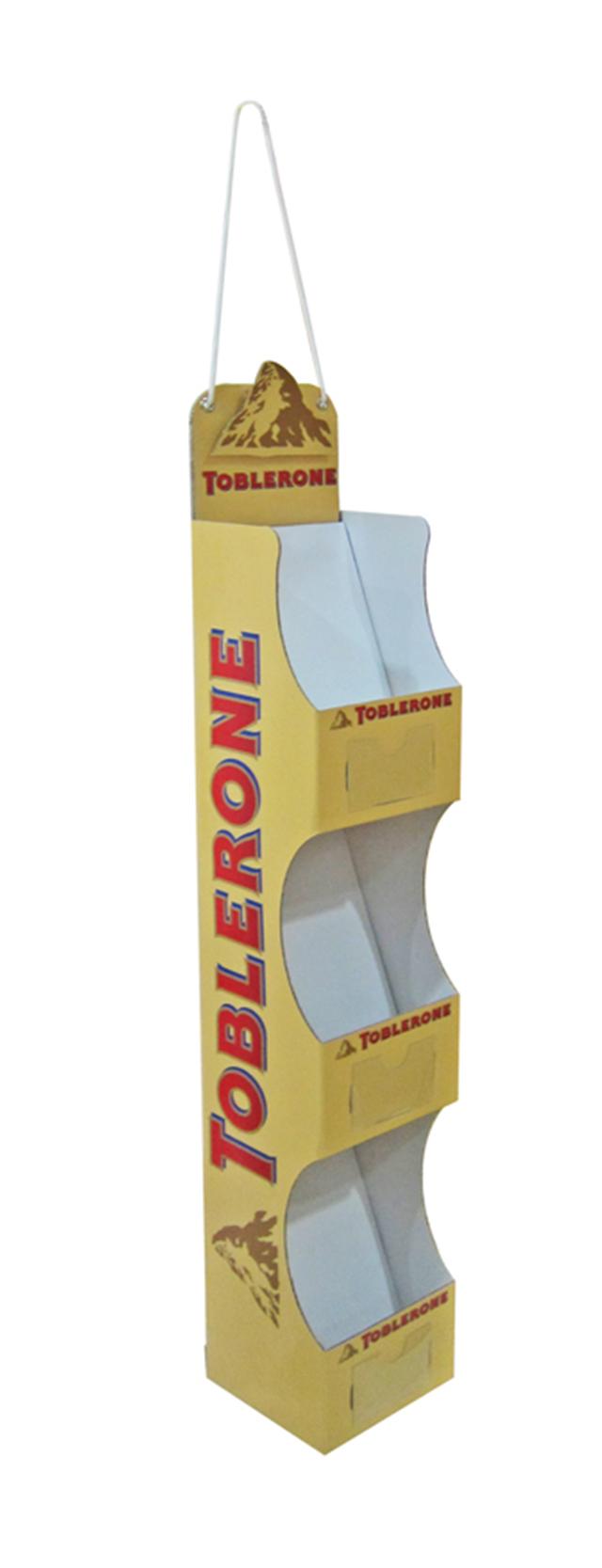 toblerone hanging front