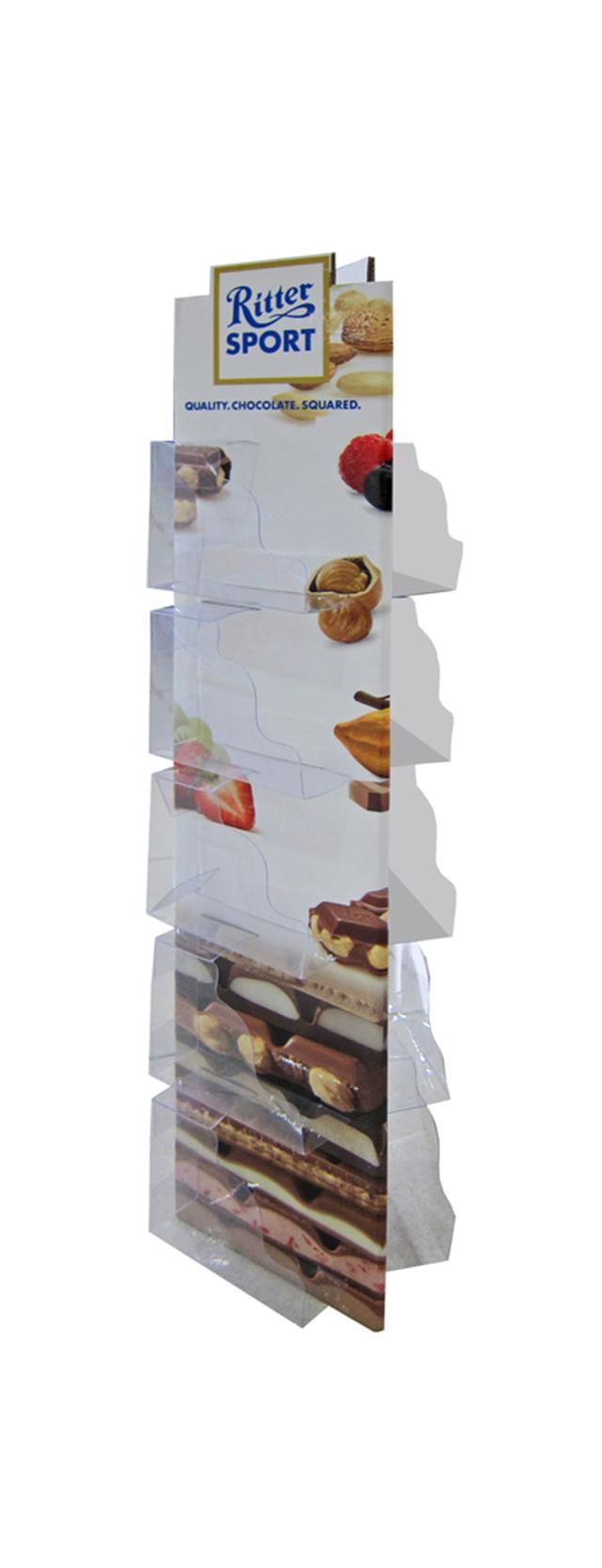 Rittersport 5 shelves front