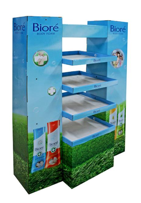biore shelf display