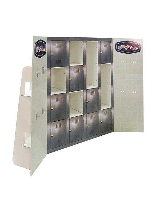 GT Man Locker Display front