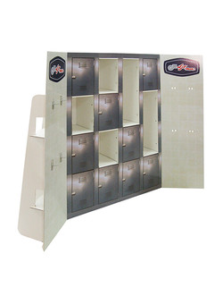 GT Man Locker Display front