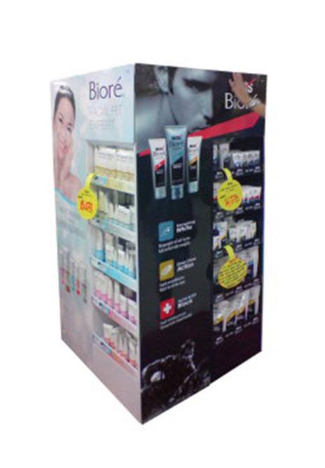 KAO Mix floor display