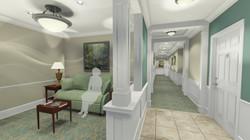 Retirement Community Interiors | Charlottesville, VA