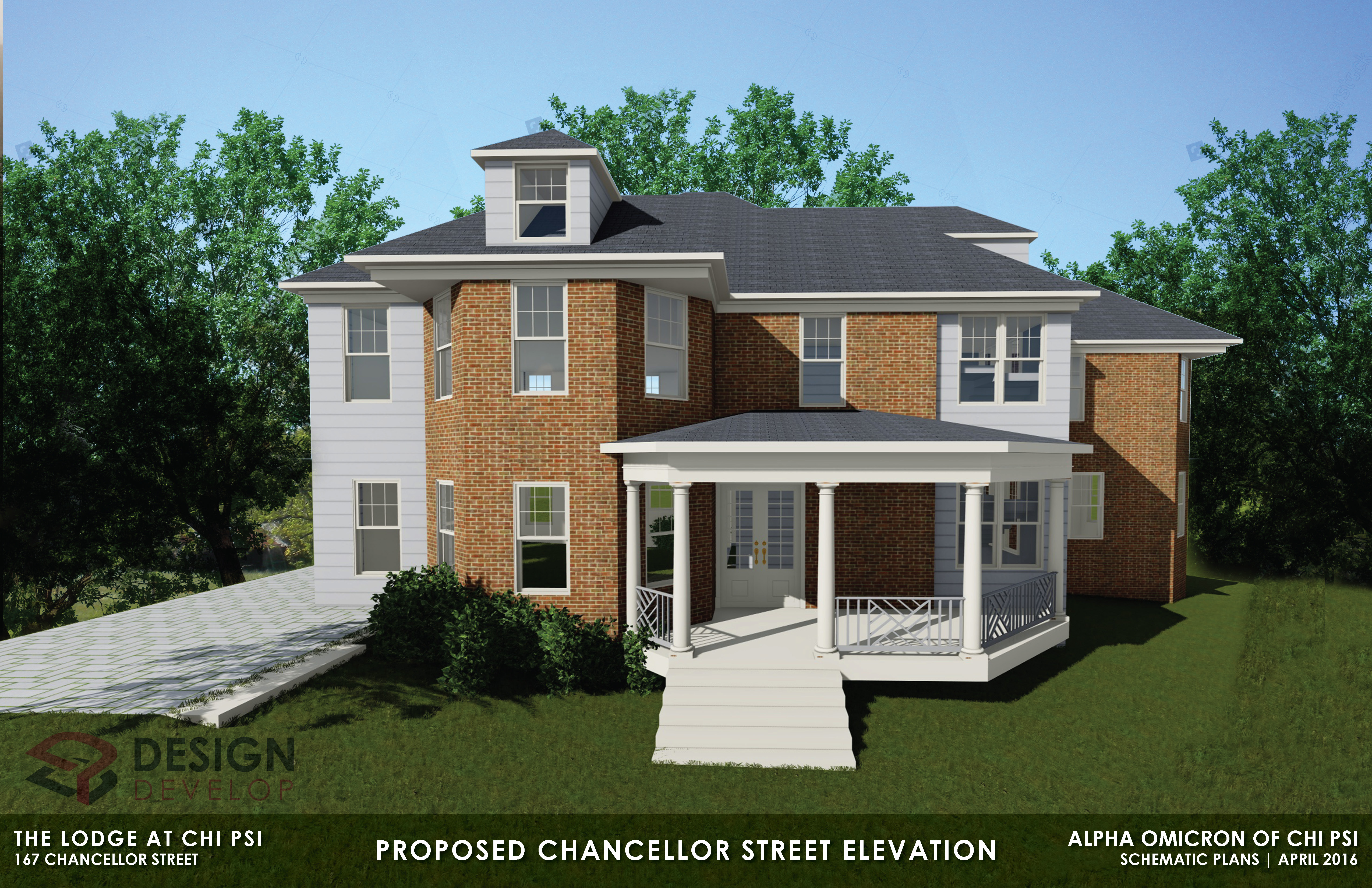 Proposed Chancellor Street Elevation