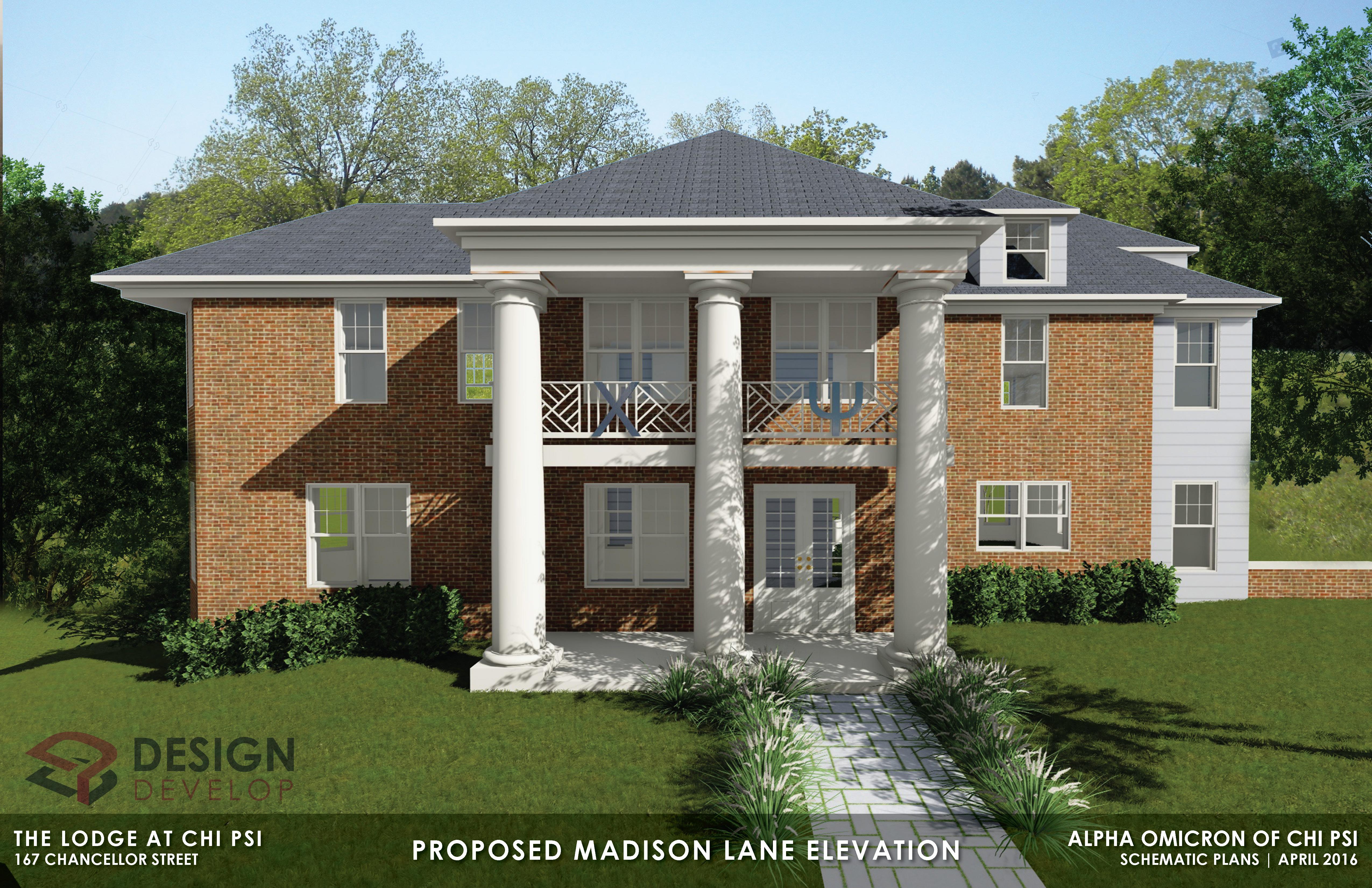 Proposed Madison Lane Elevation