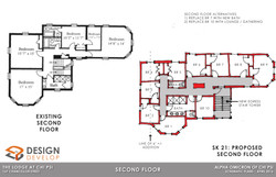 Second Level Existing and Proposed
