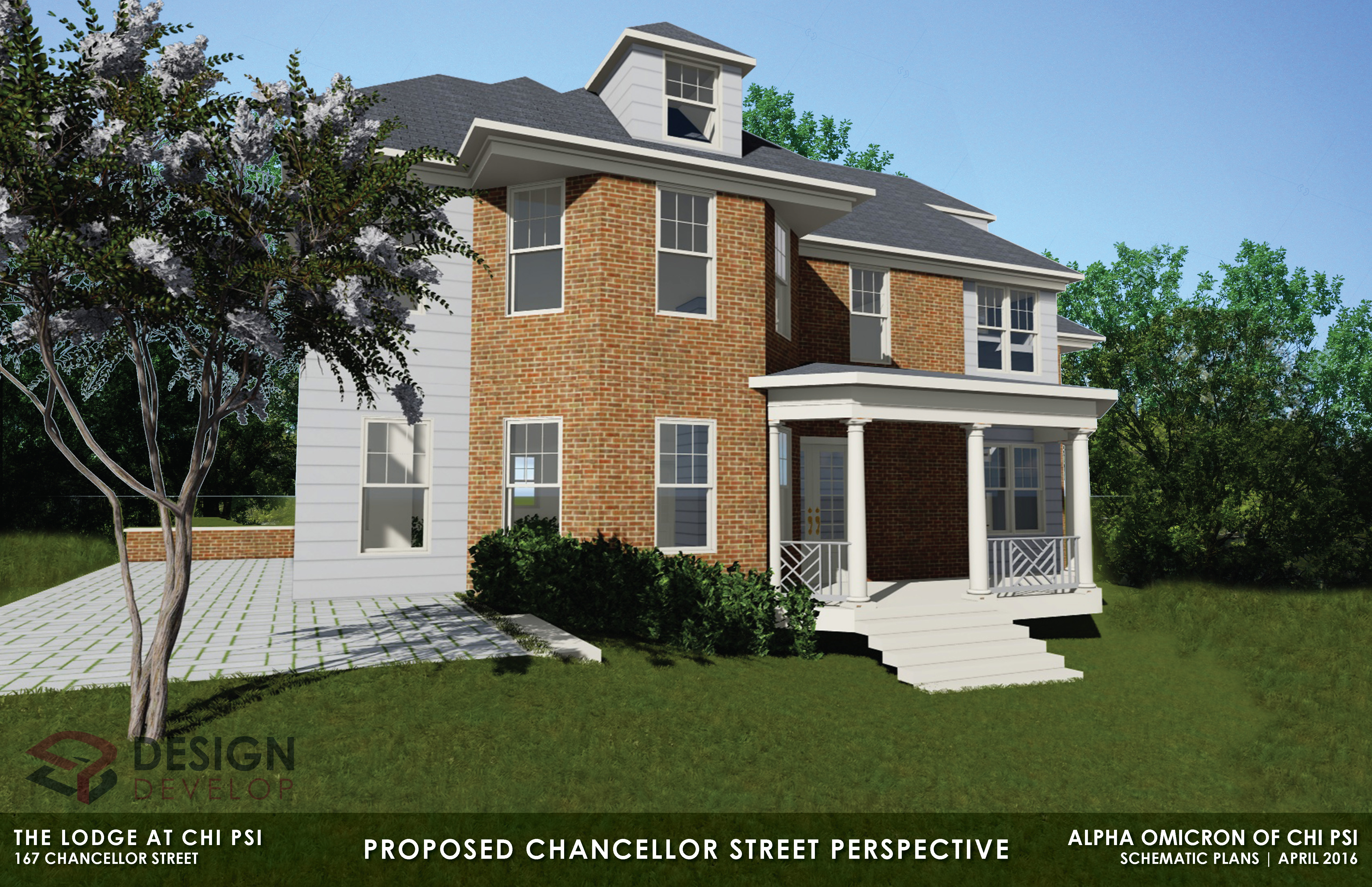 Proposed Chancellor Street Perspective