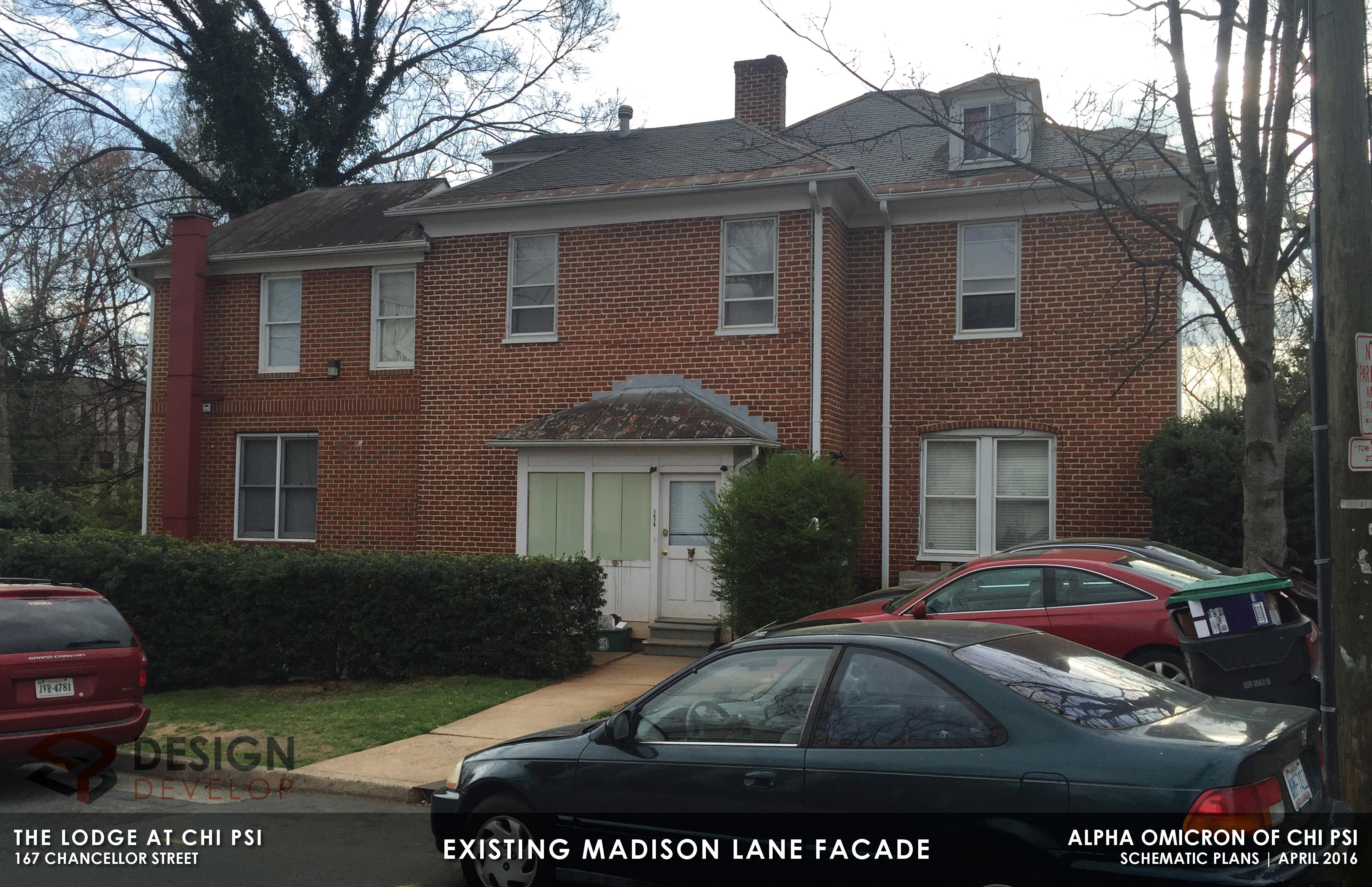 Existing Madison Lane Facade