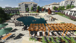 Pool, Trellis, and Common Area