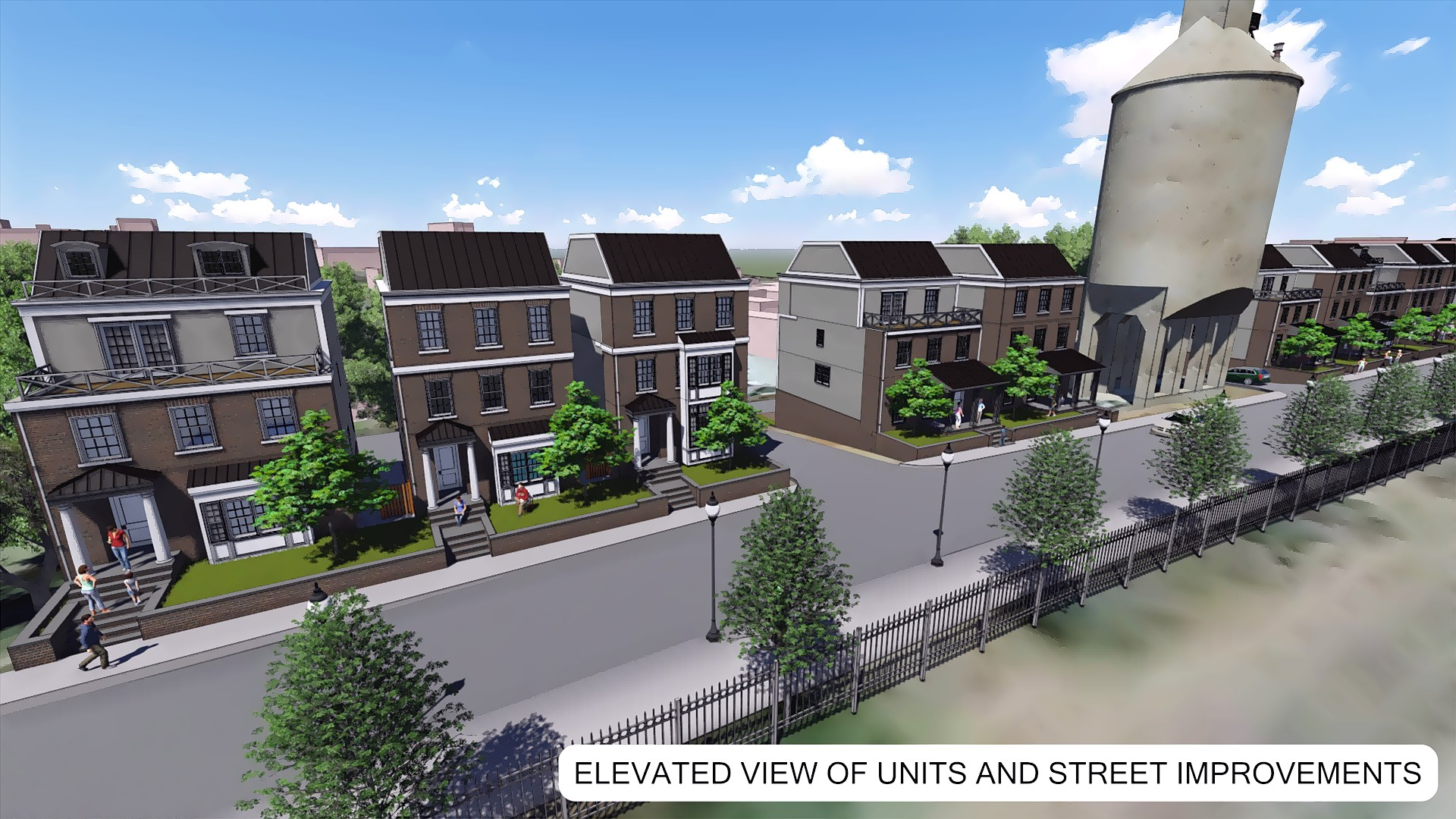 Elevated View of Units