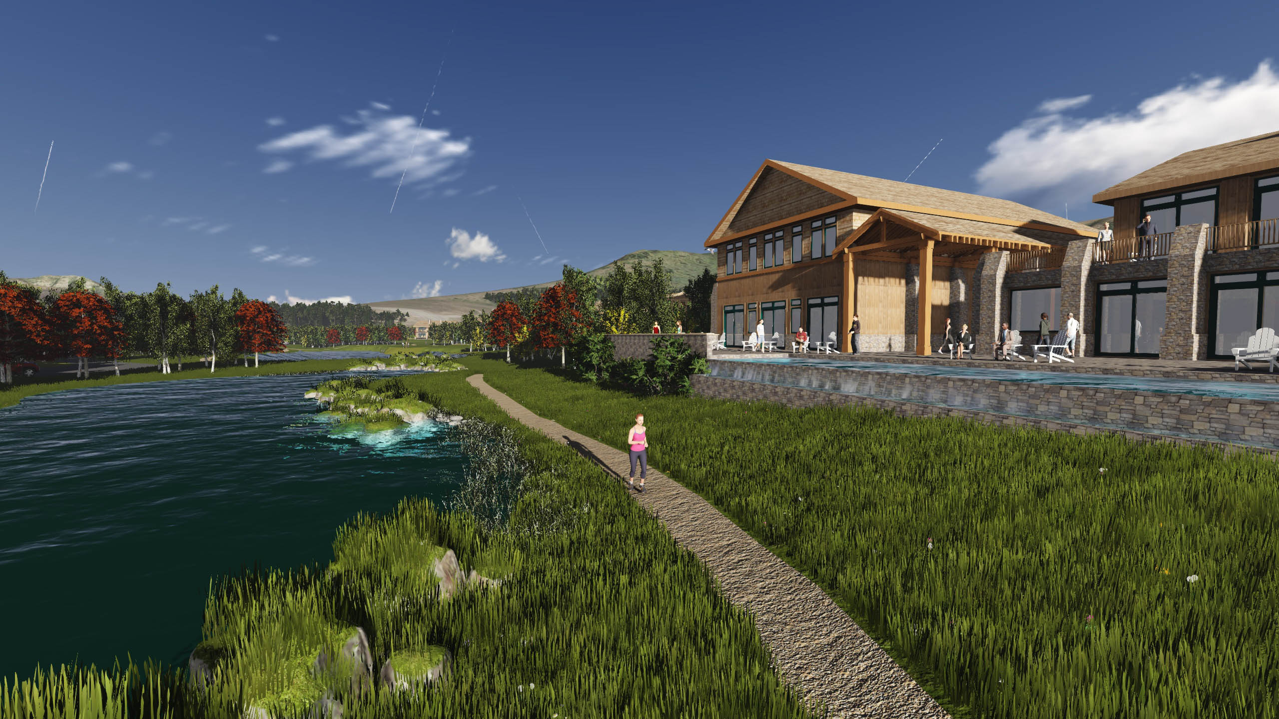 Lodge at Pond andSouth Fork Lodge | Bonneville County, ID Infinity Edge Pool