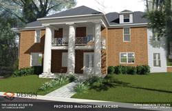 Proposed Madison Lane Facade