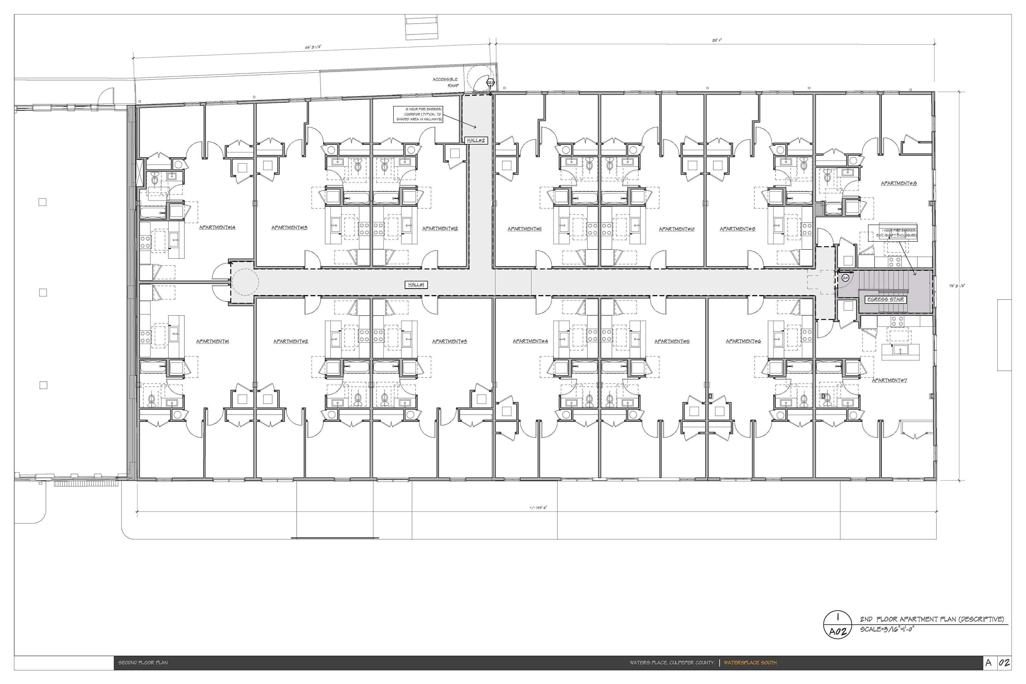 Upper Level Floor Plans