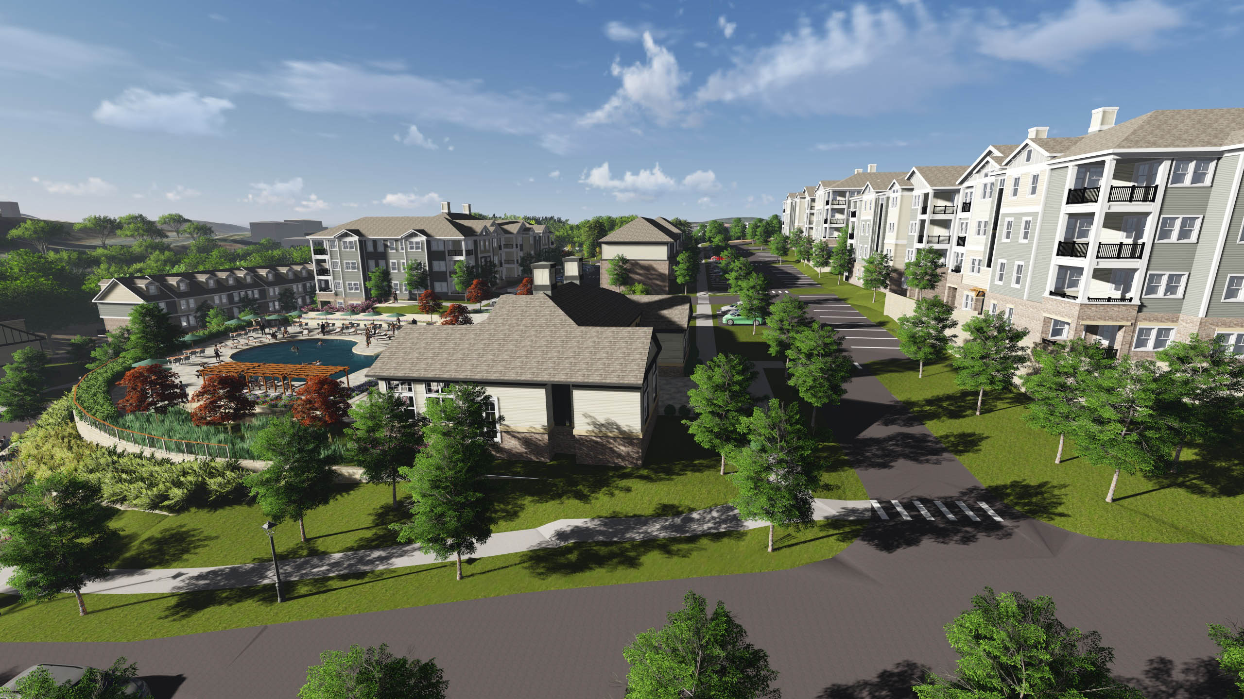 Hilltop Village Concept