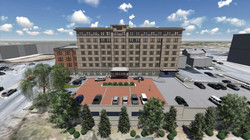 Rear Elevation and Parking Deck