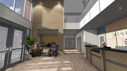 Lobby Atrium and Reception