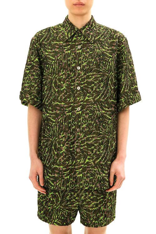 Recycled Green Short Sleeve Shirt