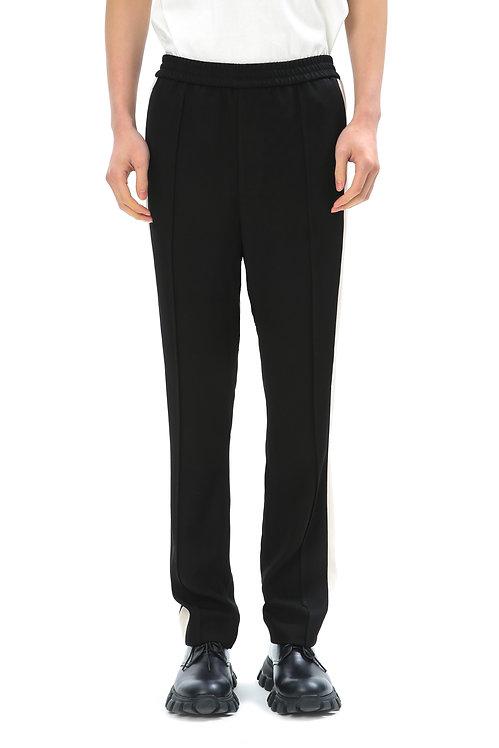 Black & White Straight Pants