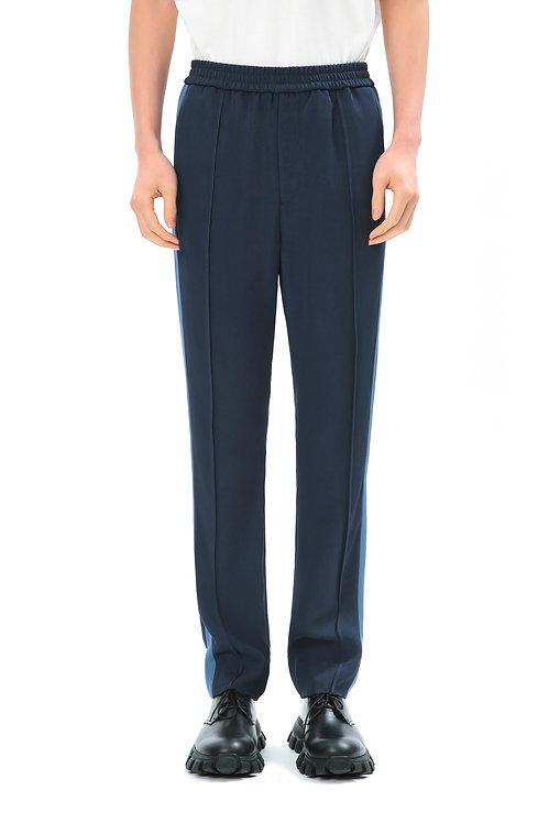 Dark Blue Straight Pants