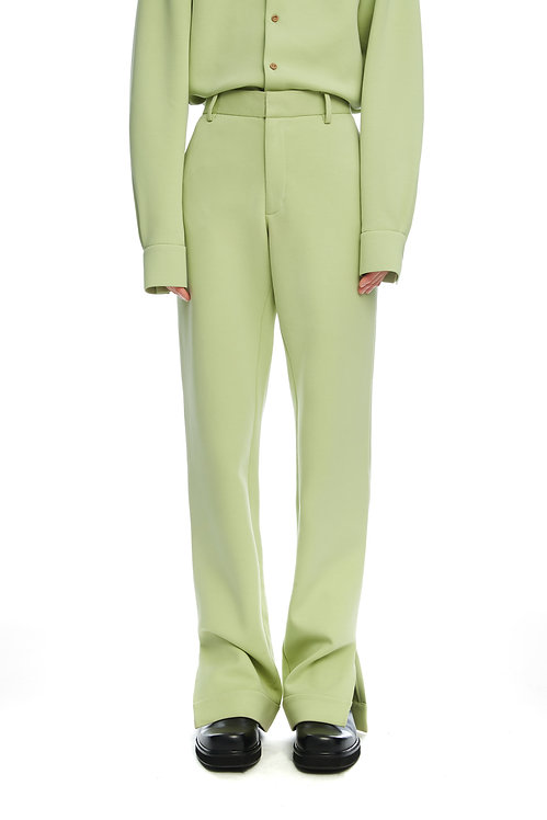 Light Green Soft Trousers