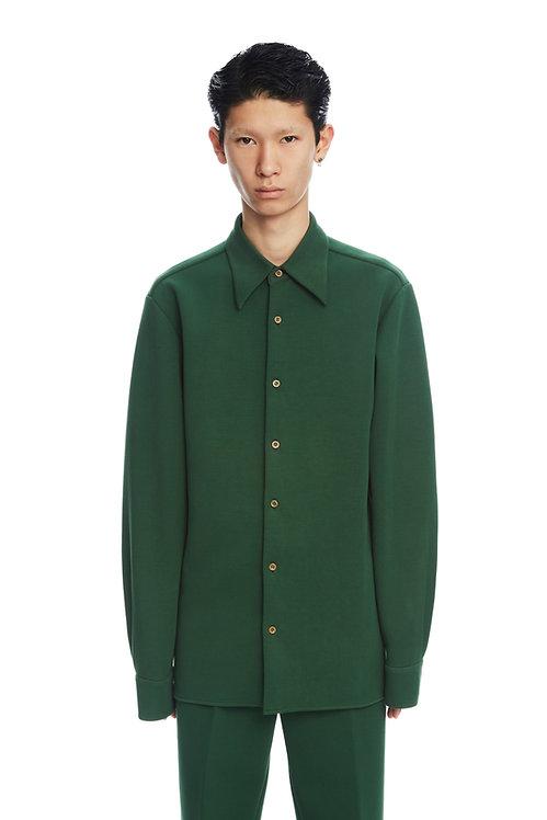 Dark Green Soft Shirt