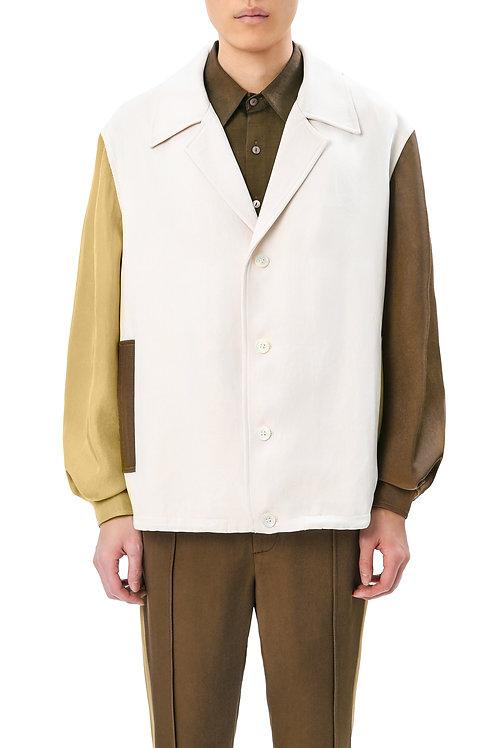 Sandy & Brown Colorblock Jacket
