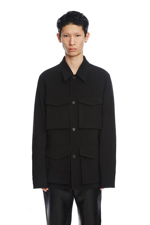 Black Pocket Jacket