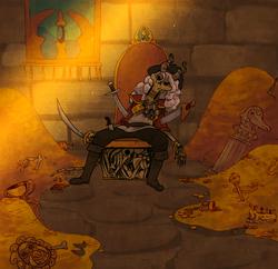 Pirate Treasure room