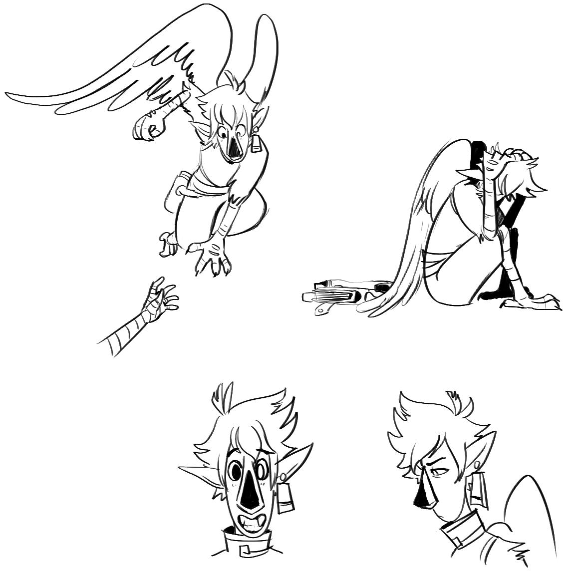 Vernon sketches