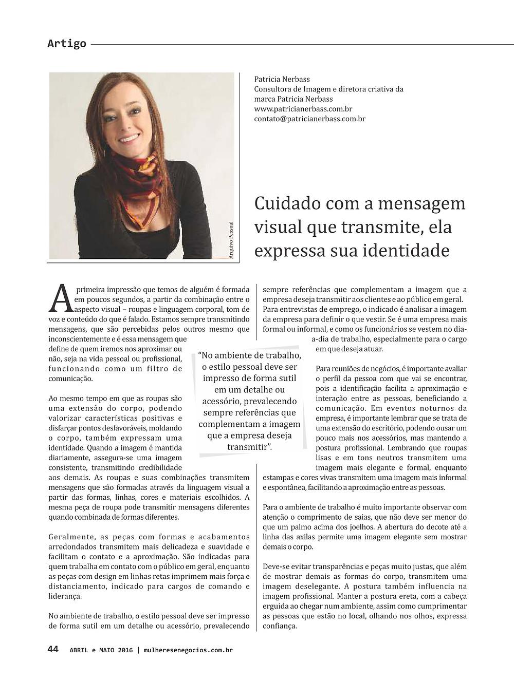 Patricia Nerbass na mídia