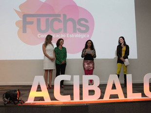 Fuchs CE recebe prêmio da Acibalc pelos 5 anos de atuação no mercado