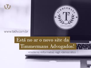 Fuchs produz novo site para Timmermans Advogados