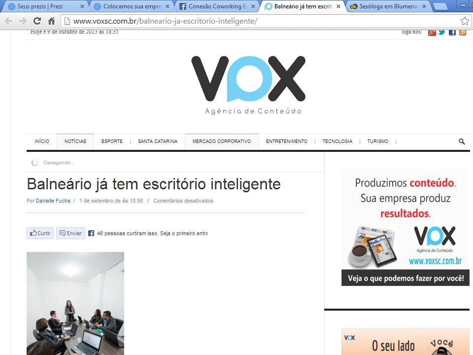 Assessoria - Portal VOX