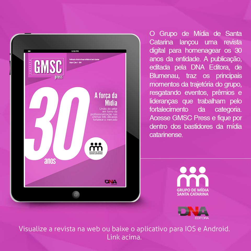 Revista GMSC - projeto e edição