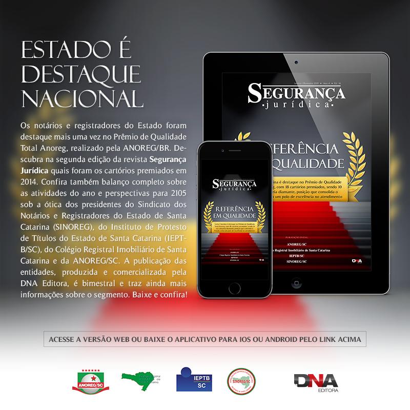 Revista Anoreg - projeto e edição