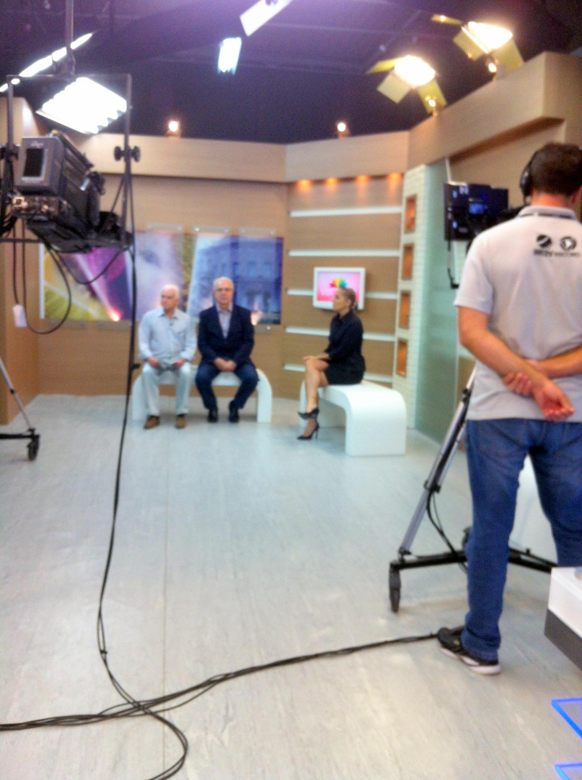 Assessoria - Entrevista TVRIC/Record