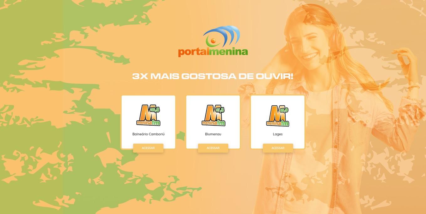 Site Portal Menina