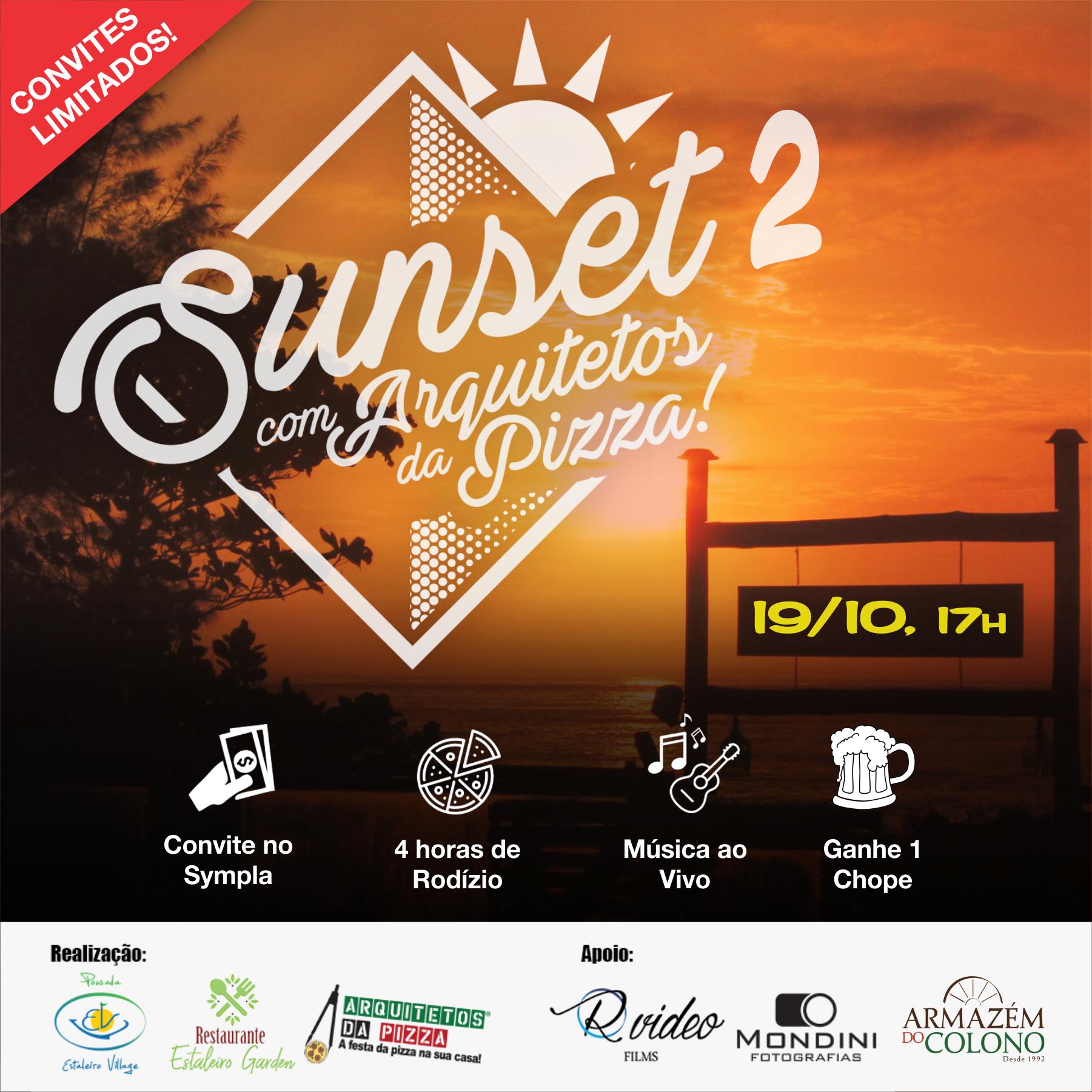 Convite Sunset