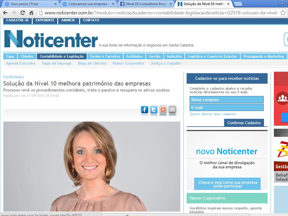 Assessoria - Portal Noticenter