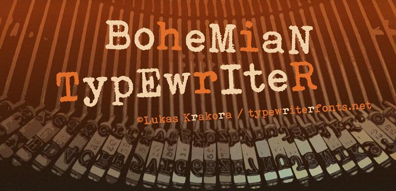 Bohemian Typewriter_pic