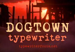 Dogtown Type