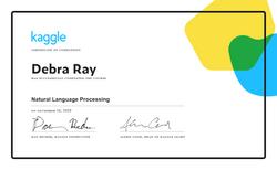 Debra Ray - Natural Language Processing.