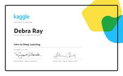 Debra Ray - Intro to Deep Learning
